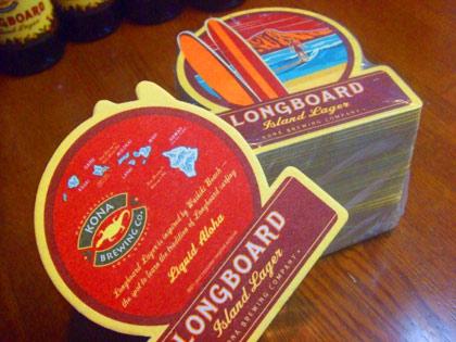 ハワイ ビール ロングボードアイランドラガー