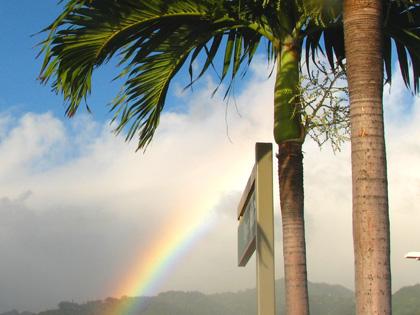 ハワイのレインボー