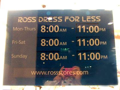 ハワイ 『ロス・ドレス・フォー・レス 』ワイキキ店