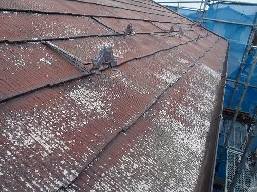 08 屋根高圧洗浄完了