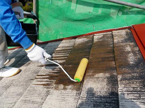 11 エポキシ系下地強化シーラー塗布