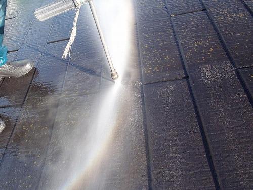 2.屋根高圧洗浄