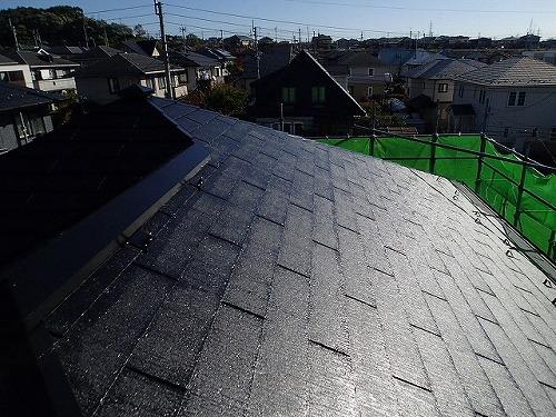 9.コロニアル屋根 施工完了