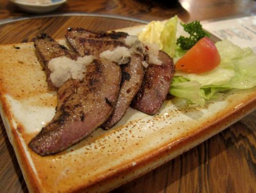 丸金レバーステーキ