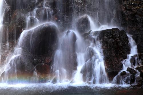 虹の映える千ヶ滝