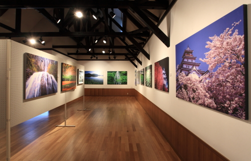 第3展示室への通路