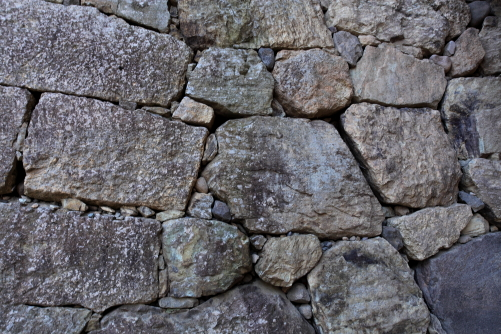 真田石の城壁