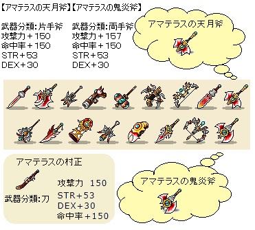 ホットタイム150武器