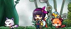 紫妖の髪結①