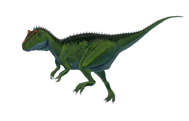 アロサウルス 緑