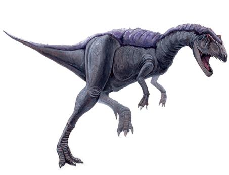 アロサウルス切り 青