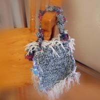 裂き織のバッグ
