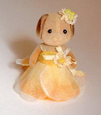 バラのドレス