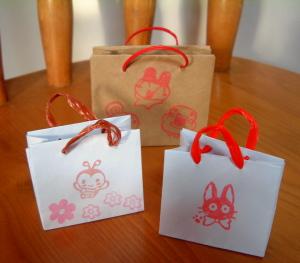 紙袋ミニ2