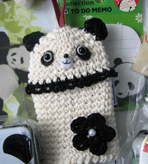 パンダのキーカバー