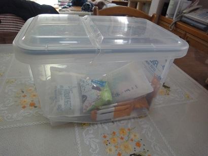 我が家の食品箱