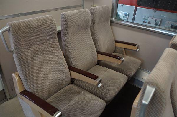 3人掛け座席