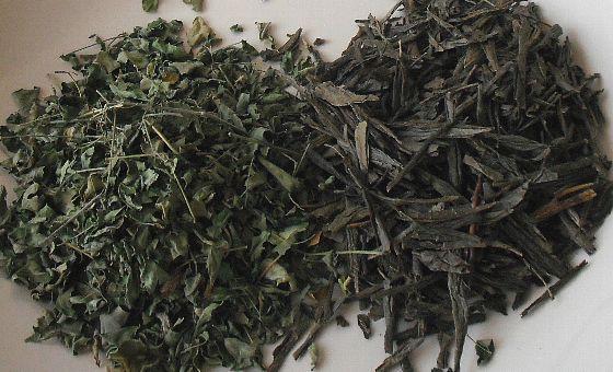 もりんがと緑茶