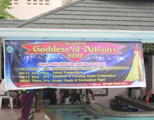 Goddess of Atlantis2012 pool banner
