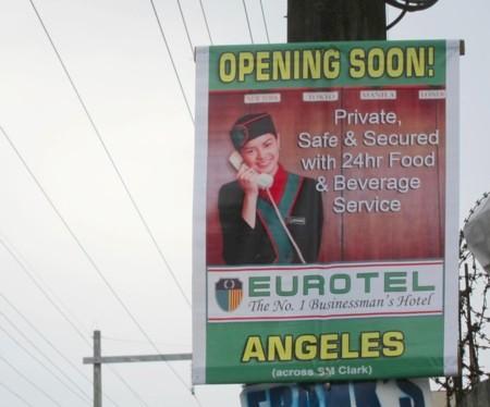 Eurotel angeles banner