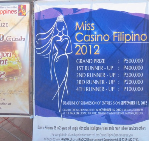miss casino2012 schedule