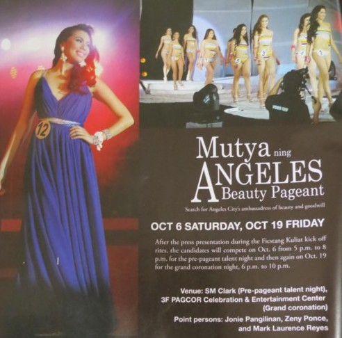 mutya ng Angeles2012 coronation