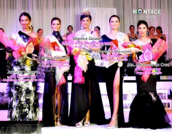Mutya ng Magalang2012 winners