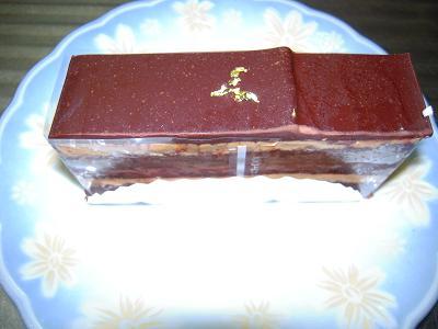 洋酒入りチョコレートケーキ
