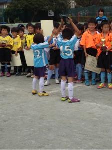 【2012年 春季青葉区少年サッカー大会 U8】 青葉FCU8祝!3位 @さつきが丘小学校/少年サッカー