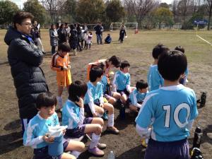 2011年度青葉区少年サッカー冬季大会U-10準優勝/2010年3月11日(日)@恩田第5グラウンド/少年サッカー