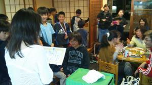 【2011年度 青葉区少年サッカー冬季大会】U-10 祝!準優勝 祝勝会