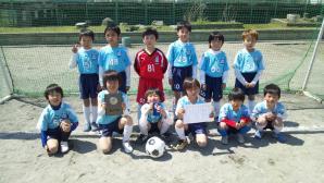 【2012年度 第4回 嶮山カップ】U-8 祝!準優勝