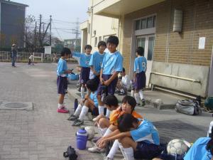 2011年2月27日(日)6年生最後に全員集合で撮影会@すすき野小学校