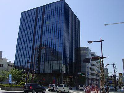 松山市のオフィス街