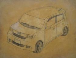骨描き黄土 002-2