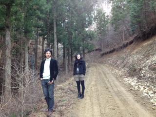 南三陸の森散策