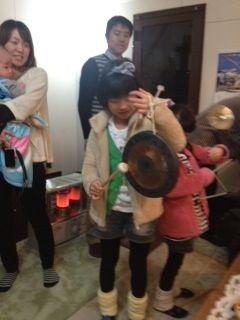 家族音楽会芽銅鑼