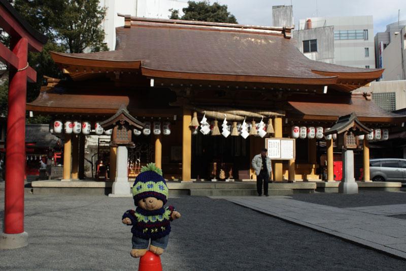小梳神社に初詣