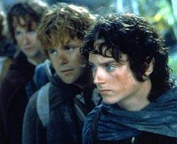 ホビットの冒険…ではなく、フロドたち