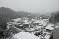 三田方面雪の風景