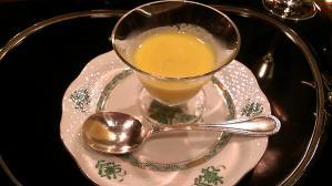 うかい亭 トウモロコシの冷製スープ