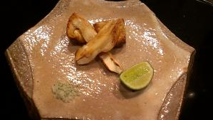 うかい亭 カナダ産松茸