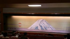 富士山の緞帳