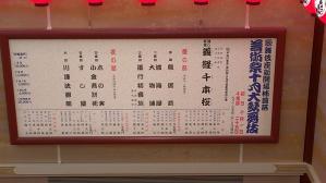こけら落とし公演10月大歌舞伎
