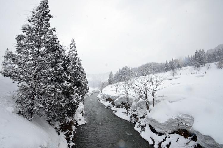 山里の雪-3