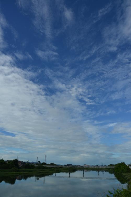 川と空と-2