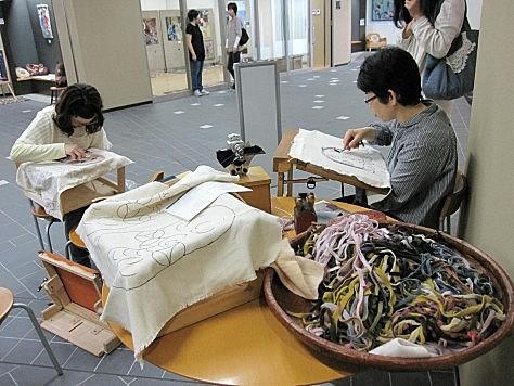 第1回熊野クラフトフェスティバル~キルト・ラグ・染めの祭典~2012 019