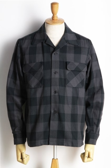 Lot238 BUFFALO CHECK SHIRT BK (3)