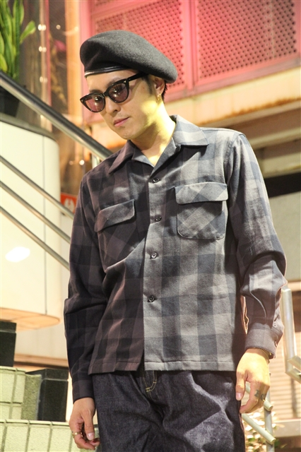 Lot238 BUFFALO CHECK SHIRT BK (2)