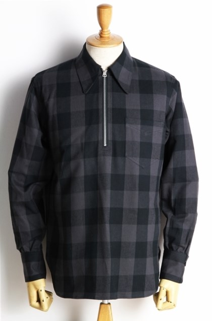Lot239 BUFFALO CHECK PULLOVER BK (5)